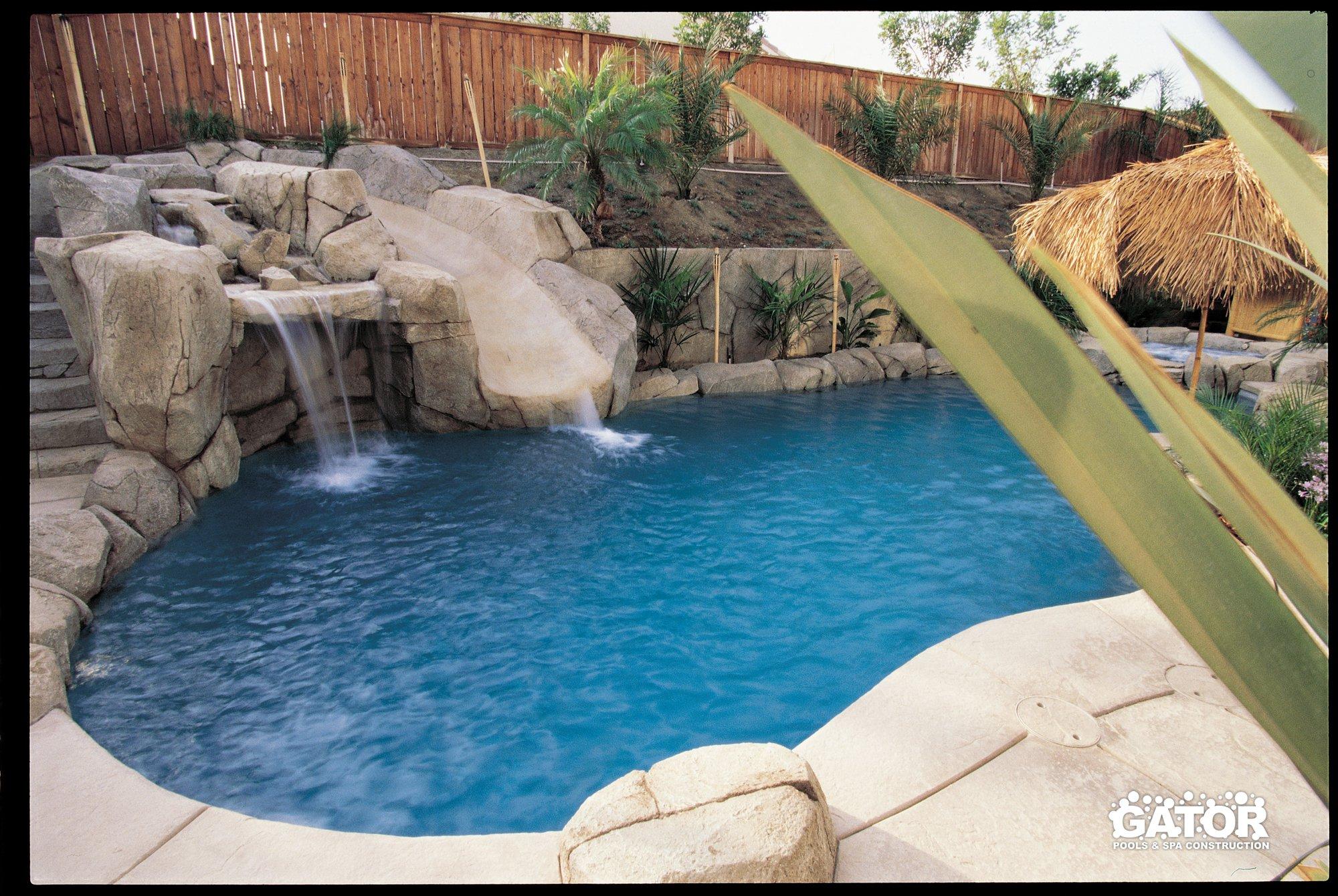 Custom concrete pool construction miami florida for Custom inground swimming pools